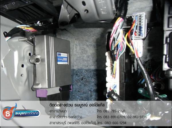TOYOTA Hilux Vigo 2700 cc.  (ป้ายแดง) ติดแก๊ส LPG หัวฉีด ชุด Fast-Tech Premium 4 สูบ ของ ENERGY-REFORM พร้อมถัง 58 ลิตร ใต้ท้องรถ โดยธนบูรณ์ ออโต้แก๊ส